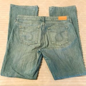 BIG STAR Remy Mid Rise Boot Cut Jeans Size 31 12